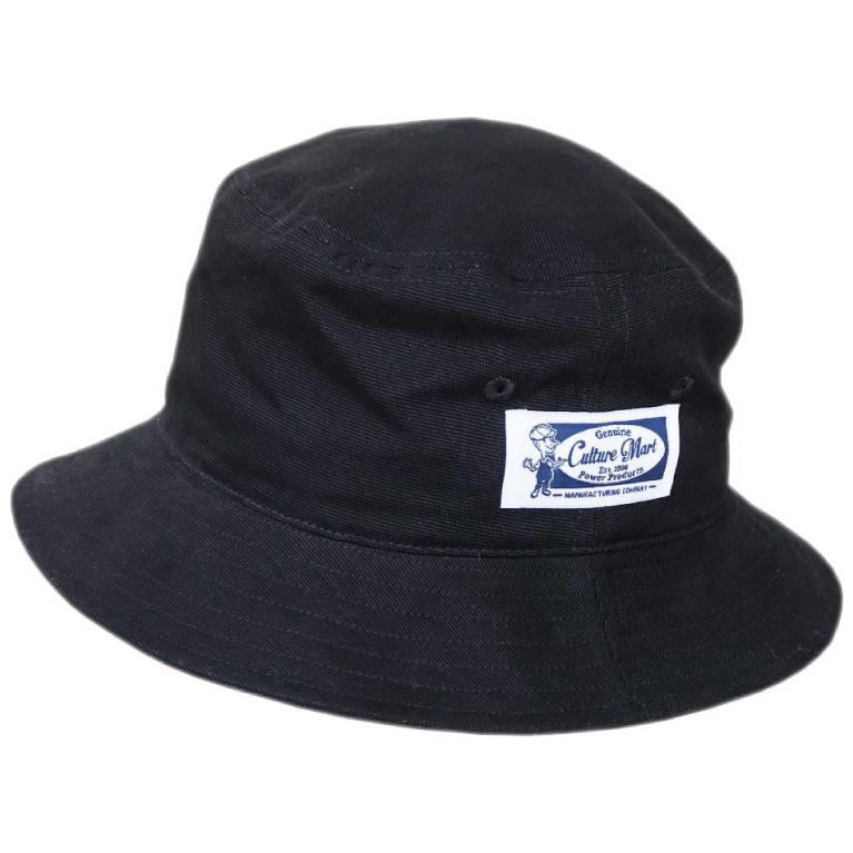 BUCKET HAT 3.BLACK