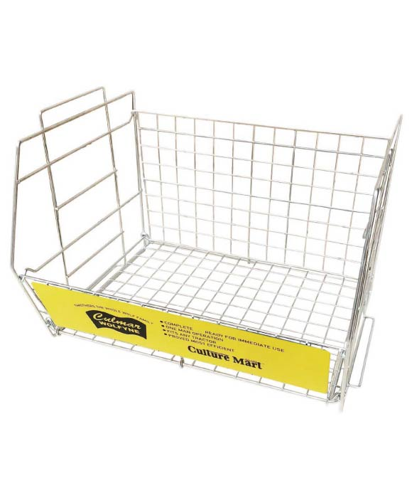 WIRE RACK L YELLOW