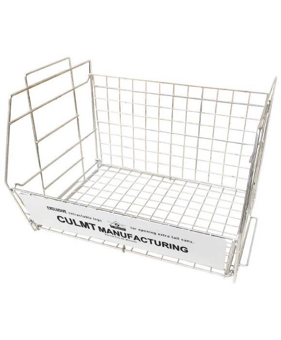 WIRE RACK L WHITE