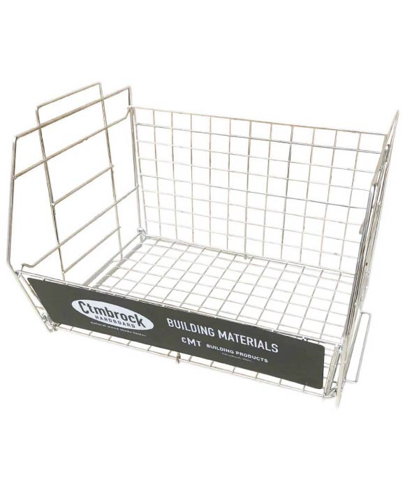 WIRE RACK L BLACK