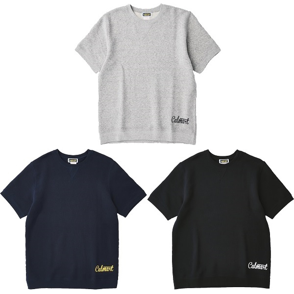 FRENCH TERRY SWEAT SHORT SLEEVE
