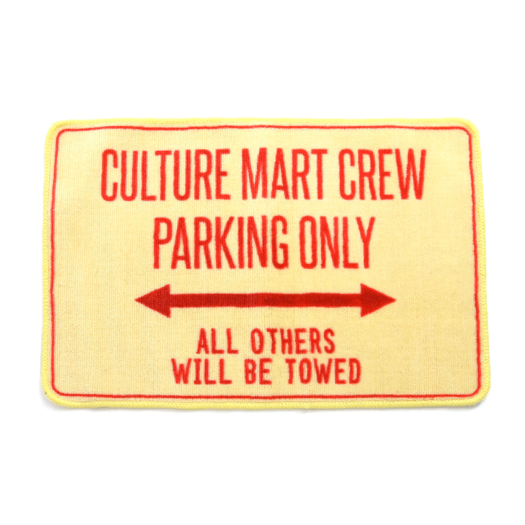 FLOOR MAT(PARKING ONLY)